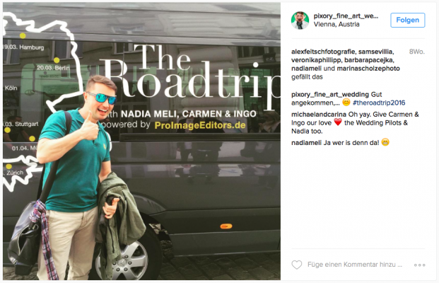 The Roadtrip - ProImageEditors.de - Social Media Feedback