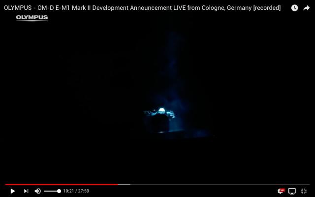 Olympus OM-D E-M1 Mark II Livestream