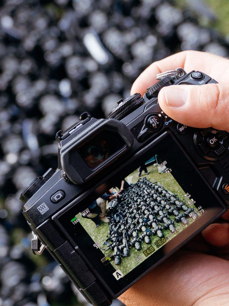 Olympus Fotosommer Testausrüstung