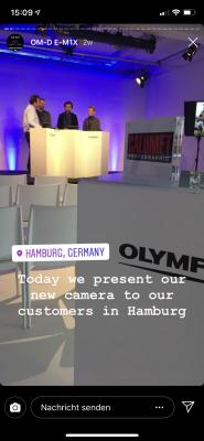 Olympus OM-D E-M1X Livestream YouTube und Instagram 6