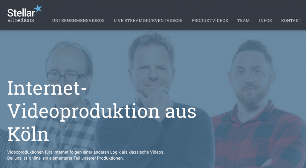 Stellar Videoproduktion Köln